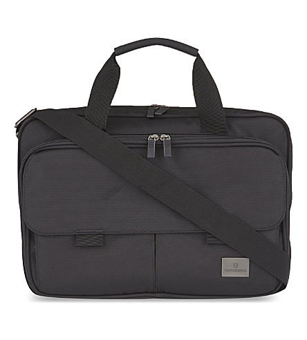 VICTORINOX Executive expandable briefcase (Black