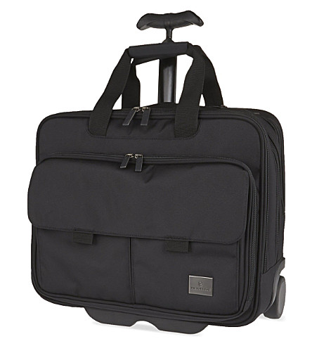 VICTORINOX Werks Professional™ Strategist wheeled laptop case (Black
