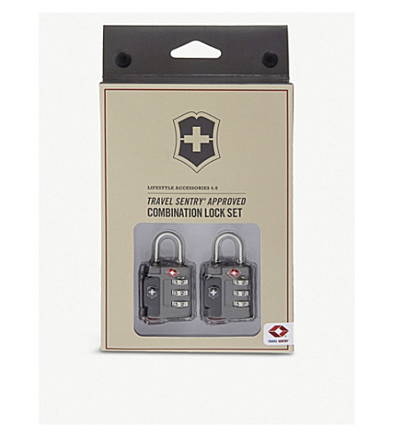 VICTORINOX Combination lock set (Grey