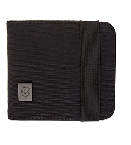 VICTORINOX Bi-fold wallet (Black