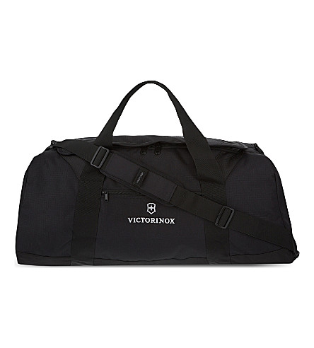 VICTORINOX Large travel duffel bag (Black
