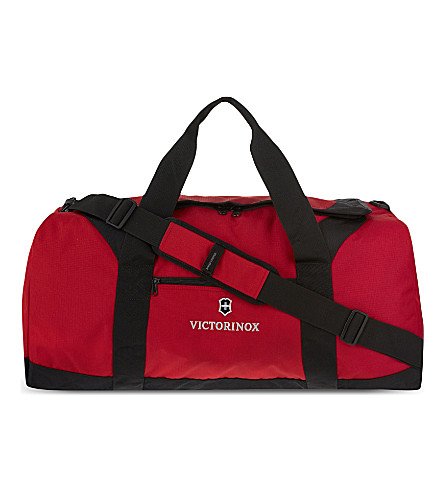VICTORINOX Large travel duffel bag (Red
