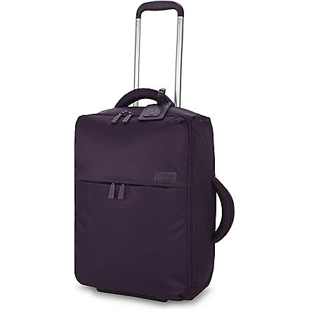 LIPAULT Foldable two-wheel cabin suitcase 55cm (Purple