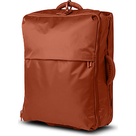 LIPAULT Foldable two-wheel cabin suitcase 55cm (Caramel