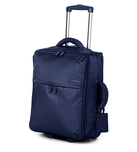LIPAULT Foldable two-wheel cabin suitcase 55cm (Navy