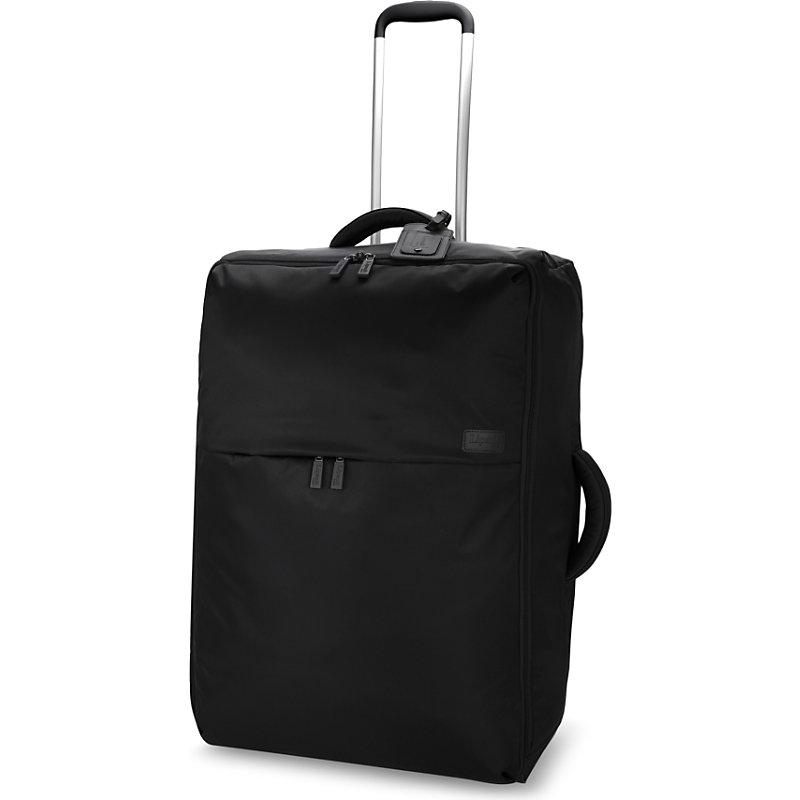 LIPAULT | Lipault 0% Pliable Two-Wheel Cabin Suitcase 65cm, Black | Goxip