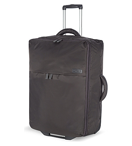 LIPAULT Foldable two-wheel suitcase 65cm (Grey