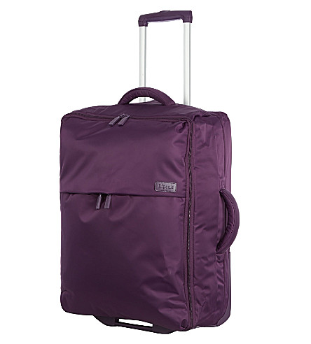 LIPAULT 折叠式双轮手提箱 65cm (紫色