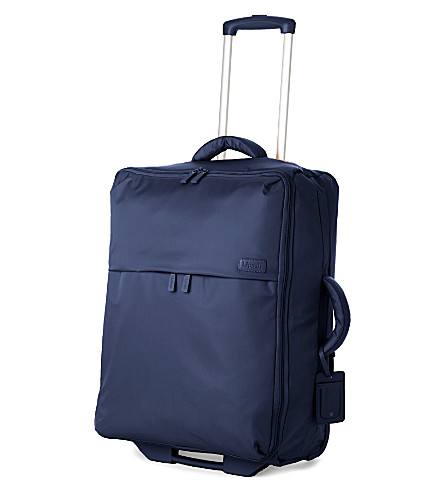 LIPAULT Foldable two-wheel suitcase 65cm (Navy