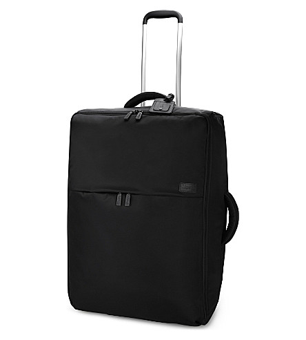 LIPAULT 0% pliable two-wheel suitcase 72cm (Black