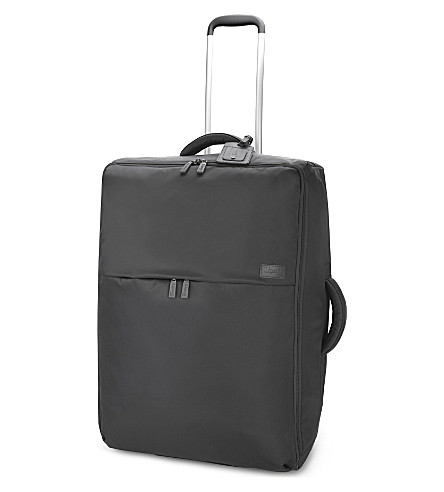 LIPAULT 0% pliable two-wheel suitcase 72cm (Grey