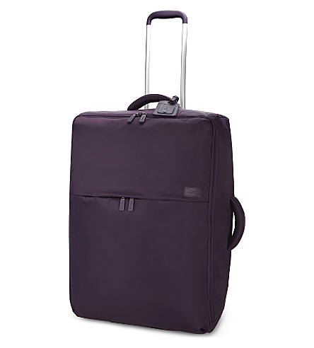 LIPAULT 0% pliable two-wheel suitcase 72cm (Purple