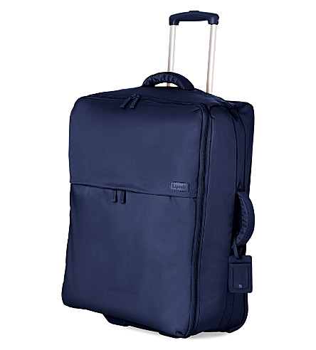 LIPAULT Foldable two-wheel trolley suitcase 75cm (Navy
