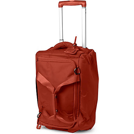 LIPAULT Foldable wheeled duffel bag (Caramel
