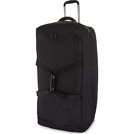 LIPAULT Foldable wheeled duffel bag 75cm (Black