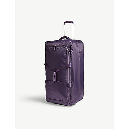 LIPAULT Foldable wheeled duffel bag 75cm (Purple