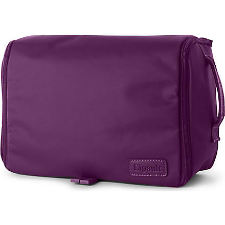 LIPAULT Hanging wash bag (Purple