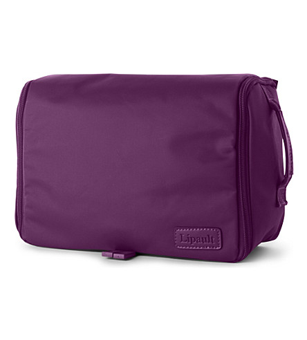 LIPAULT Hanging wash bag (Purple