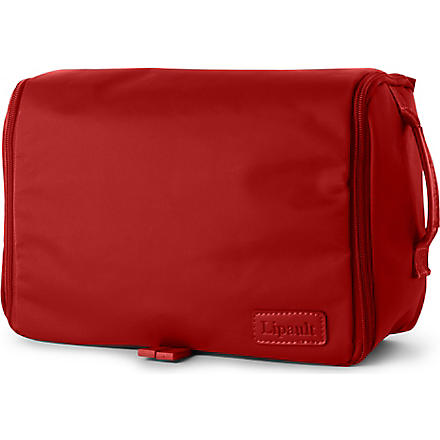 LIPAULT Hanging wash bag (Ruby
