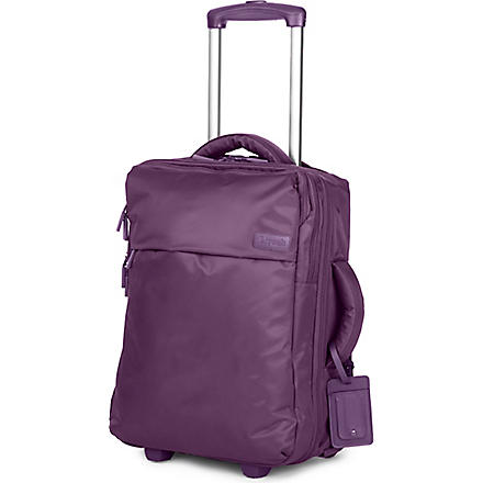 LIPAULT Business Plume four-wheel cabin suitcase 45cm (Purple