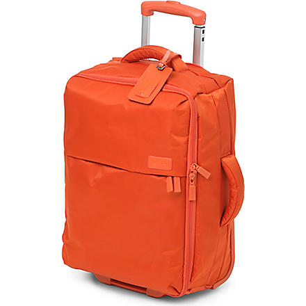LIPAULT Foldable two-wheel cabin suitcase 55cm (Orange
