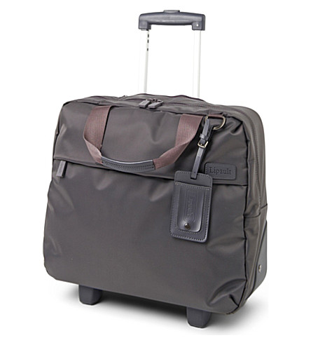 LIPAULT Plume wheeled laptop bag (Grey
