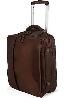 LIPAULT Two-wheel suitcase with garment bag 50cm