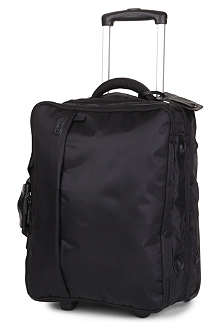 LIPAULT Foldable two-wheel cabin suitcase with garment bag 50cm