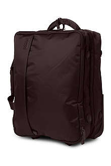 LIPAULT Foldable two-wheel suitcase with garment bag 50cm