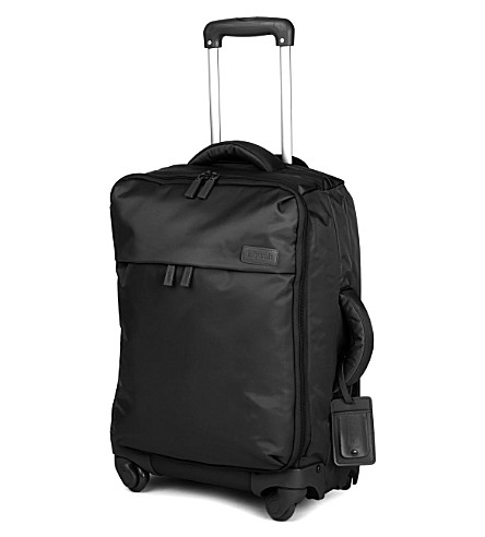 LIPAULT Original Plume four-wheel cabin suitcase 55cm (Black