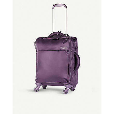Original Plume four-wheel cabin suitcase 55cm (Purple