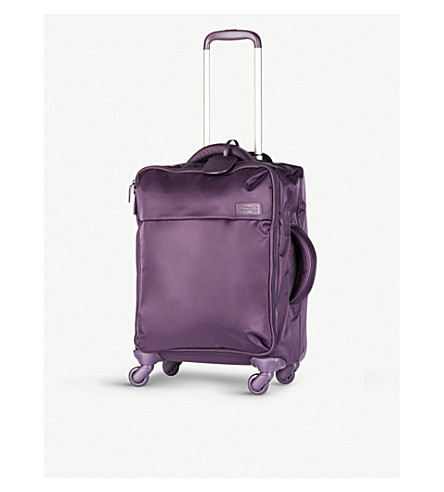 LIPAULT Original Plume four-wheel cabin suitcase 55cm (Purple