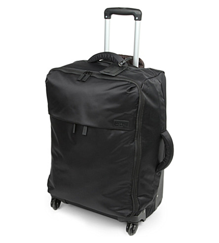 LIPAULT Four-wheel trolley suitcase 65cm (Black