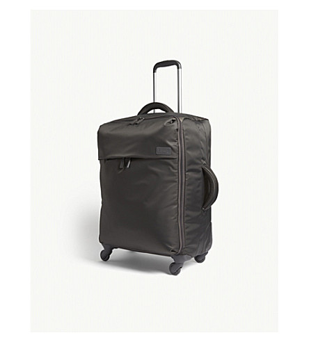 LIPAULT Plume nylon four-wheel suitcase 65cm (Grey