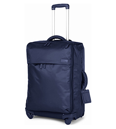 LIPAULT Foldable four-wheel suitcase 65cm (Navy