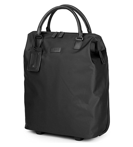 LIPAULT Lady Plume wheeled business briefcase (Black