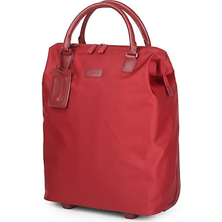 LIPAULT Lady Plume wheeled business briefcase (Ruby