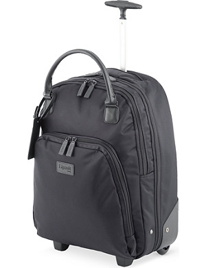 LIPAULT Wheeled business briefcase