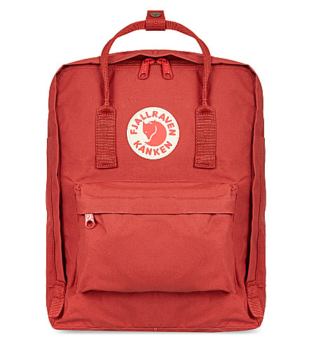 FJALLRAVEN Kånken backpack (Deep+red