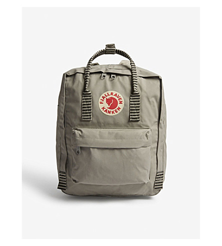 FJALLRAVEN Kanken backpack (Fog/striped