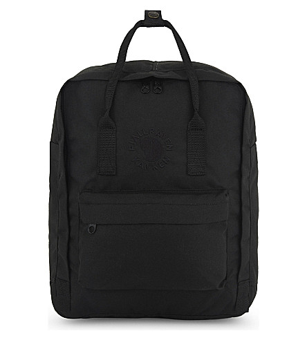 FJALLRAVEN Re-Kånken backpack (Black