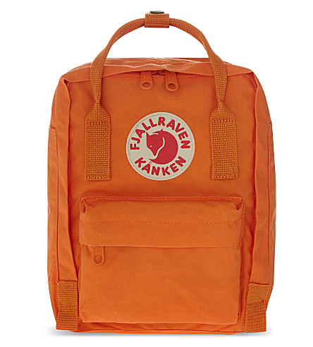 FJALLRAVEN Mini backpack (Burnt+orange