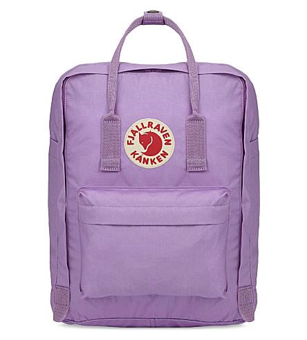 FJALLRAVEN Kånken medium nylon backpack (Orchid