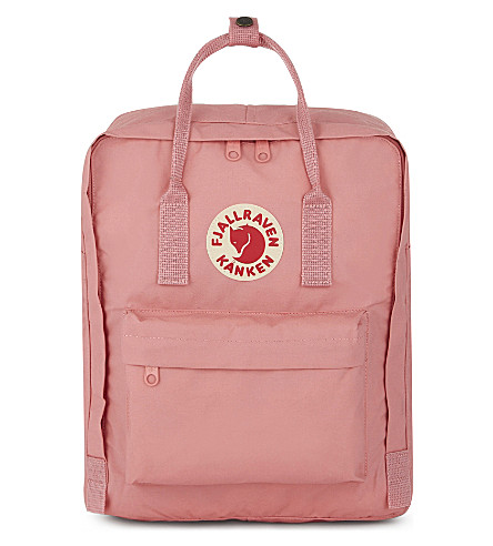 FJALLRAVEN Kånken medium nylon backpack (Pink