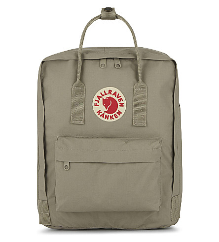 FJALLRAVEN Kånken medium nylon backpack (Putty
