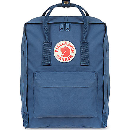 FJALLRAVEN Kånken backpack (Royal blue/ox red