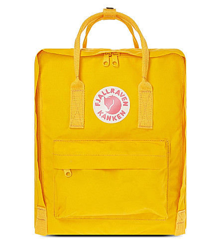 FJALLRAVEN Kånken backpack (Warm+yellow