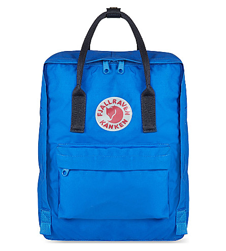 FJALLRAVEN Kanken canvas backpack (Un+blue/navy