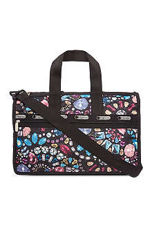 LE SPORTSAC Crystal-print medium weekender