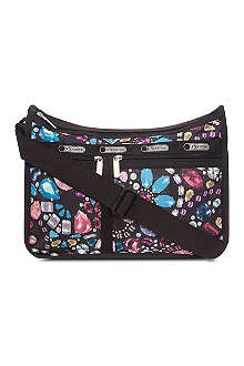 LE SPORTSAC Deluxe crystal-print shoulder bag